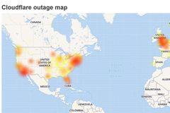 Hàng loạt website lớn trên thế giới gặp lỗi không thể truy cập