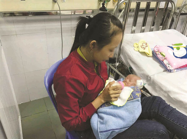 Hospital performs open-heart surgery on baby weighing only 1,600 grammes