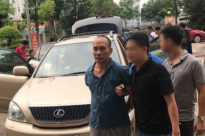 Tổng giám đốc lái xe Lexus vào ủy ban huyện ở Bắc Giang để trộm tài sản