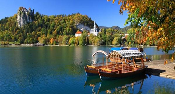 Thị trấn Bled - 'viên ngọc xanh' nơi miền cổ tích Slovenia