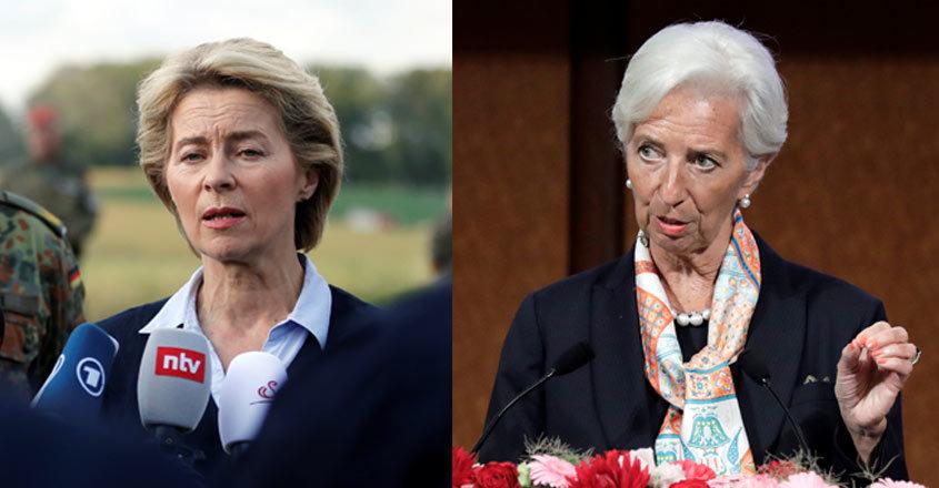 Hai phụ nữ giữ vị trí lãnh đạo hàng đầu EU