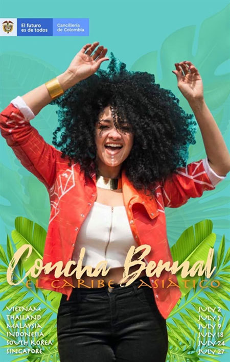 Colombian artist to perform at Hanoi Youth Theatre