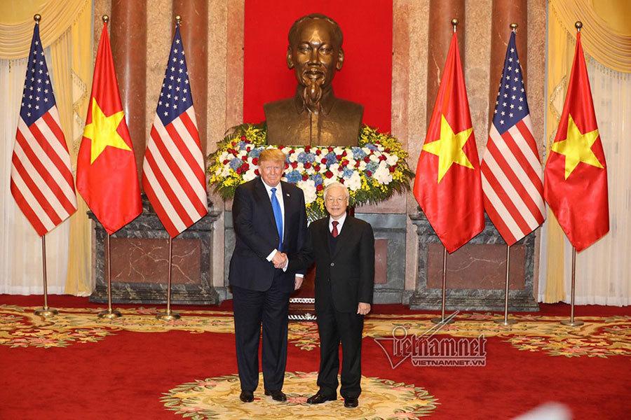 Tổng bí thư,Chủ tịch nước Nguyễn Phú Trọng,Thủ tướng,Nguyễn Xuân Phúc,Donald Trump