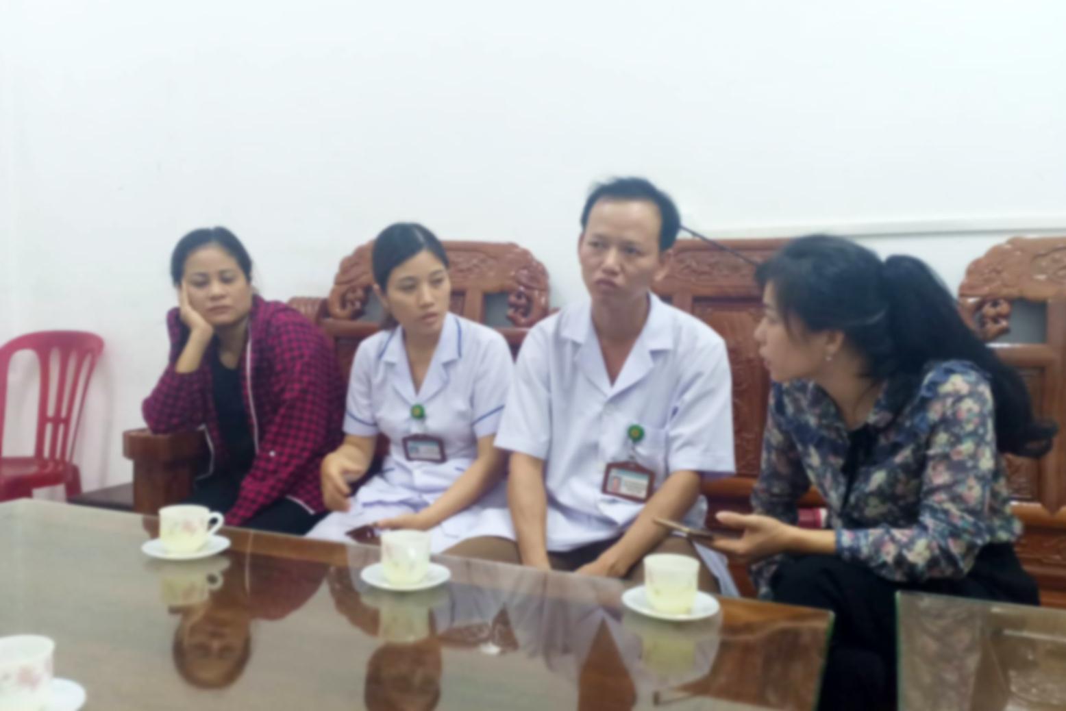 Trẻ sơ sinh tử vong,Trẻ sơ sinh,Bệnh viện đa khoa huyện Đức Thọ,Bệnh viện,Bác sĩ