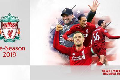 Lịchdu đấu mùa Hè 2019 của Liverpool