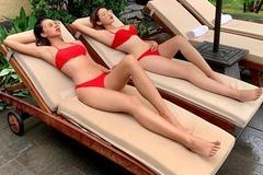 Những lần diện đồ đôi sexy, gắn như hình với bóng của Kỳ Duyên - Minh Triệu