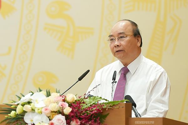 Thủ tướng,Nguyễn Xuân Phúc,họp Chính phủ,bộ trưởng