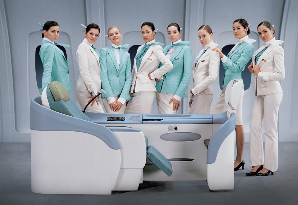 Chiêm ngưỡng dàn 'chân dài' quyến rũ các hãng hàng không nổi tiếng