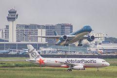 Airlines cancel flights amid storm Mun
