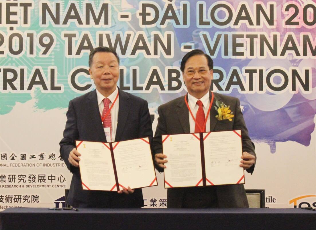 Việt Nam-Đài Loan tích cực hợp tác thúc đẩy công nghiệp hỗ trợ
