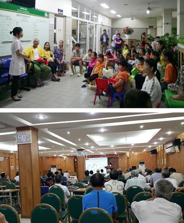 50.000 cuộc gọi đến tổng đài tư vấn cai nghiện thuốc lá BV Bạch Mai