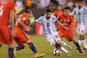 Xem trực tiếp Argentina vs Chile ở kênh nào?