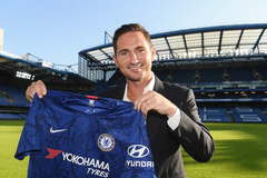 Lampard gây sốt khi chính thức dẫn dắt Chelsea