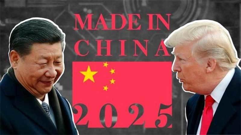 Donald Trump,Tập Cận Bình,chiến tranh thương mại,cuộc chiến thương mại