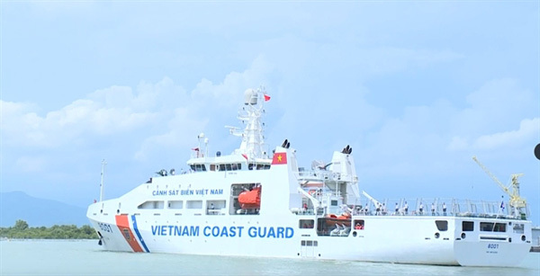 New law enables Vietnam Coast Guard to operate outside Vietnamese waters