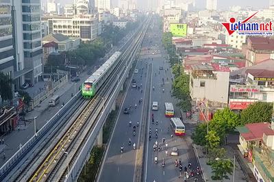 Hà Nội chưa biết thời gian đường sắt Cát Linh-Hà Đông vận hành