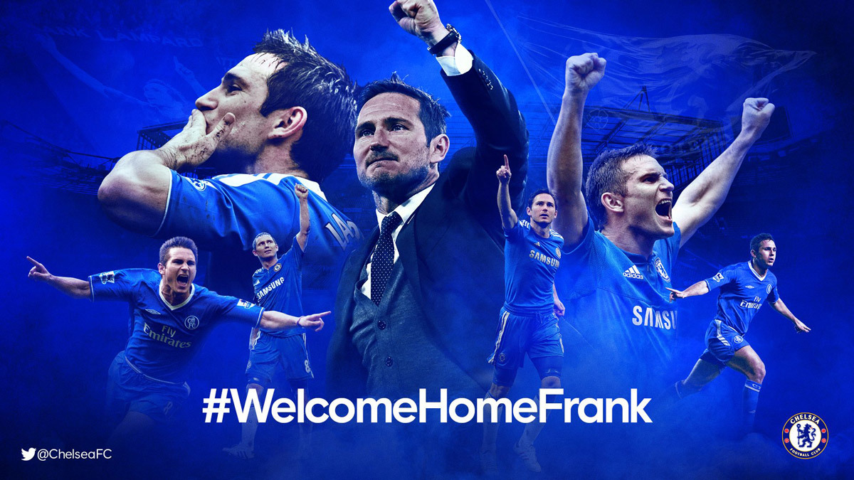 Lampard trở lại Chelsea, viết tiếp chuyện tình đẹp