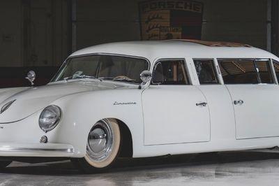 """Đấu giá Porsche 356 độ limousine """"độc"""" nhất hành tinh"""