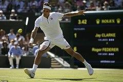 """Federer """"bay"""" vào vòng 3 Wimbledon"""