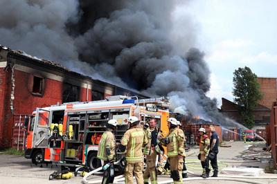 Đại sứ quán Việt Nam tại Đức thông tin vụ cháy chợ Đồng Xuân ở Berlin