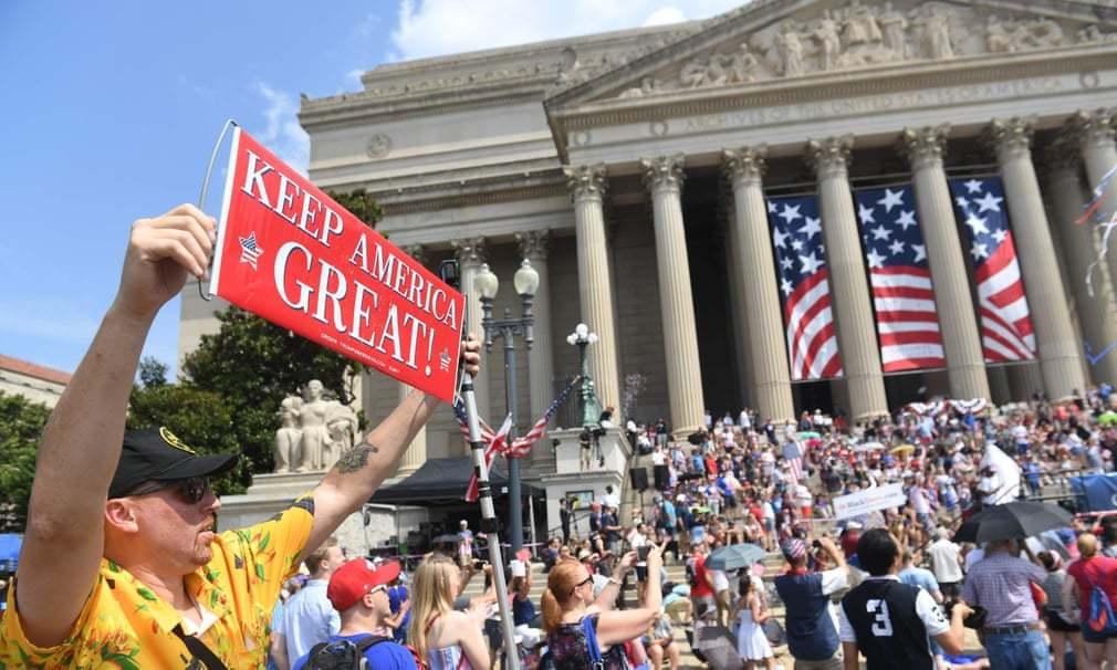 Ngày Độc lập 'khác thường' của nước Mỹ