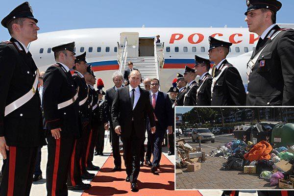 Putin được ca ngợi 'cứu' cả thành Rome