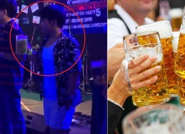 ngộ độc cồn,uống bia