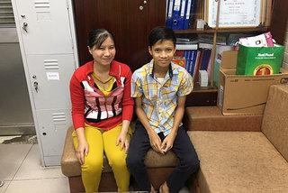 Cậu bé lớp 8 có nguy cơ đột tử đã sẵn sàng tựu trường