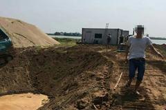 Giám đốc doanh nghiệp đánh gục dân trước mặt công an ở Tiên Lãng