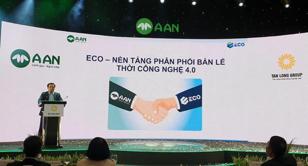 Tập đoàn Tân Long ra mắt thương hiệu gạo A An