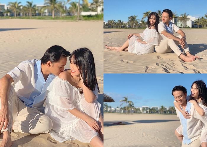 Hồ Ngọc Hà, Kim Lý đưa gia đình và Subeo sang Mỹ nghỉ hè