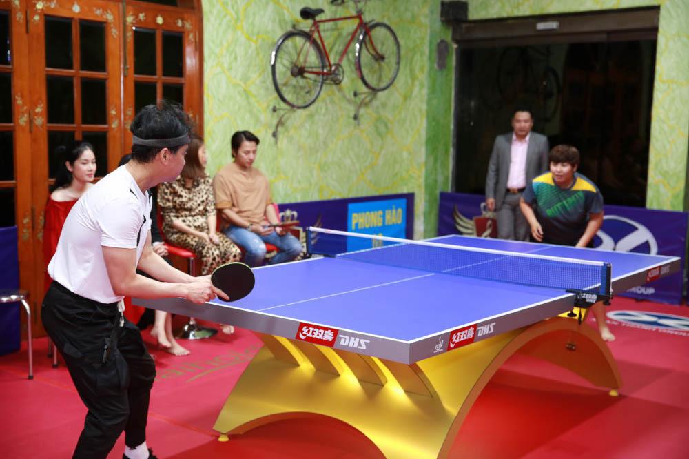 Ngọc Sơn chi 300 triệu xây phòng tập bóng bàn trong biệt thự trăm tỷ