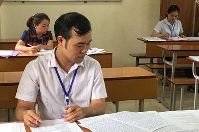 Xuất hiện bài thi THPT quốc gia 'bất thường' ở Thanh Hoá