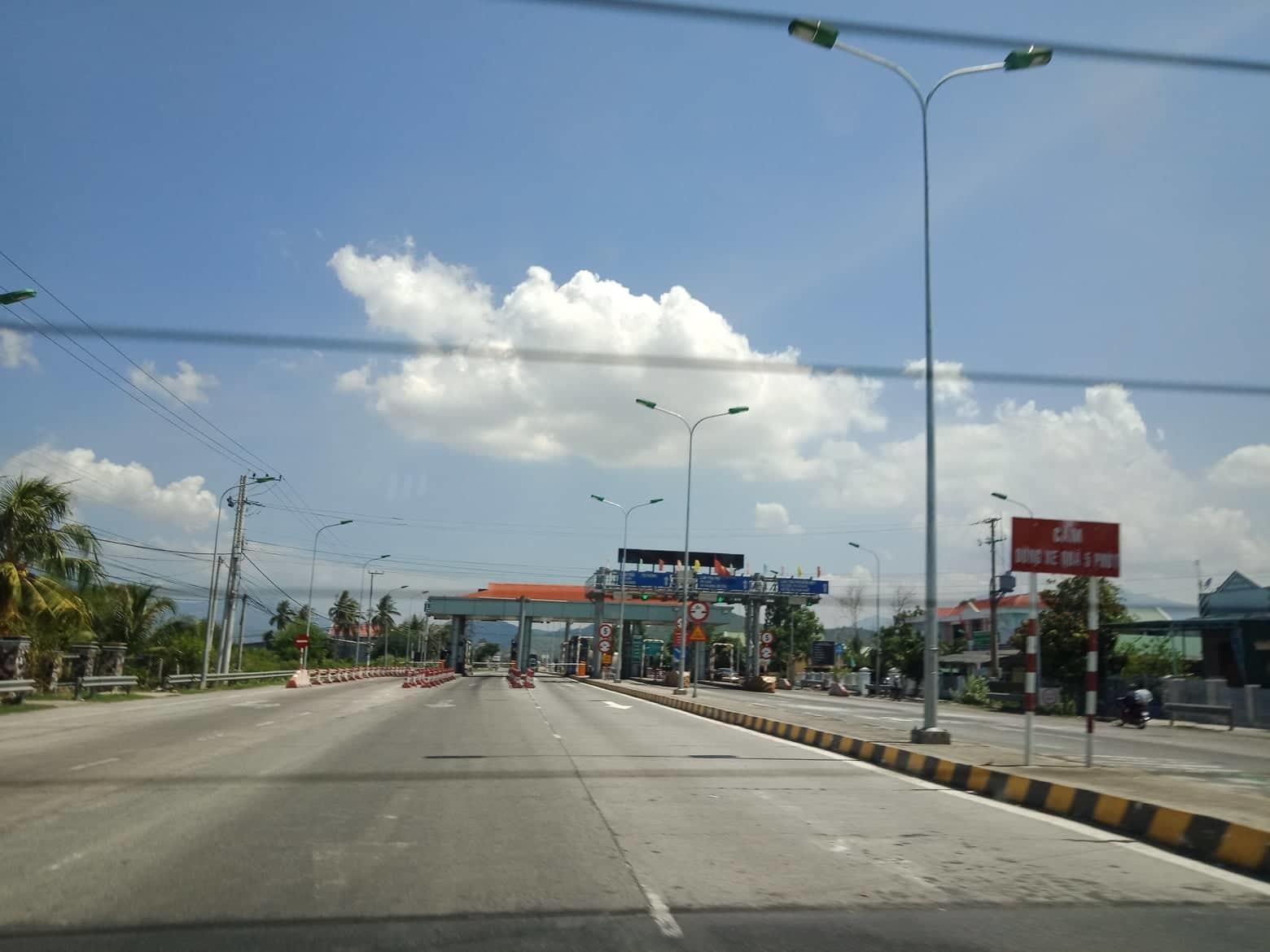 Tạm dừng thu phí BOT Cam Thịnh từ ngày 10/7