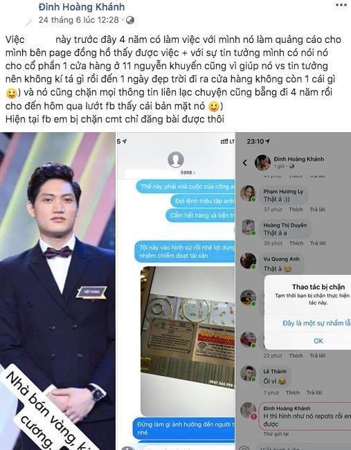 Chàng trai được Lê Lộc chọn hẹn hò hoà giải với người tố lừa đảo