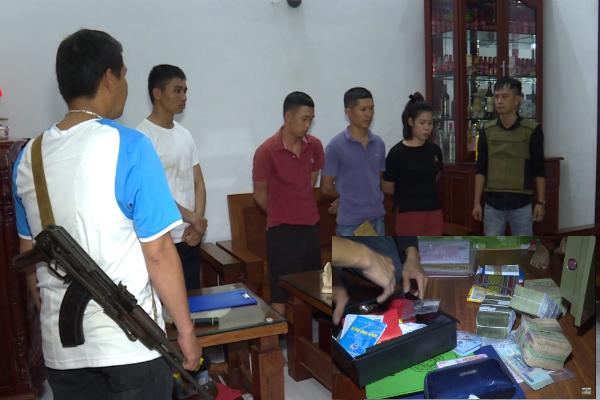 Hàng trăm cảnh sát đột kích 27 điểm ghi lô đề ở Đắk Lắk