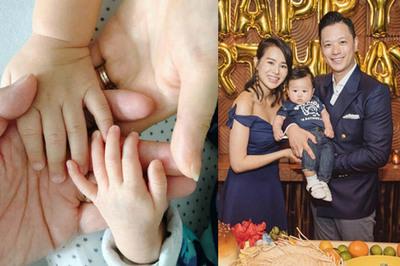 Mỹ nữ TVB Hồ Hạnh Nhi sinh con thứ hai ở tuổi 40