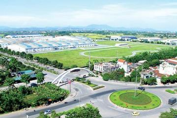 Industrial infrastructure mostly serves FIEs