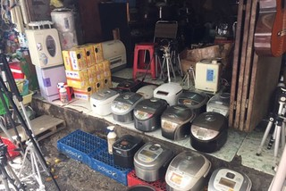 Vietnamese like Japanese kitchenware, even secondhand