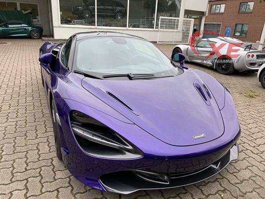 Đại gia Vũng Tàu đặt gạch siêu xe McLaren 26 tỷ đồng màu tím độc