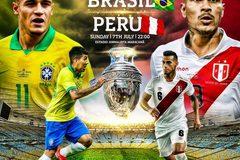 Xem trực tiếp chung kết Copa America Brazil vs Peru ở đâu?