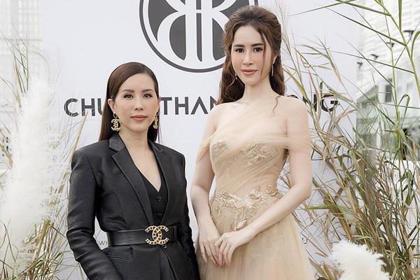 Princess  Ngọc Hân, Thu Hoài quyến rũ dự sự kiện thời trang