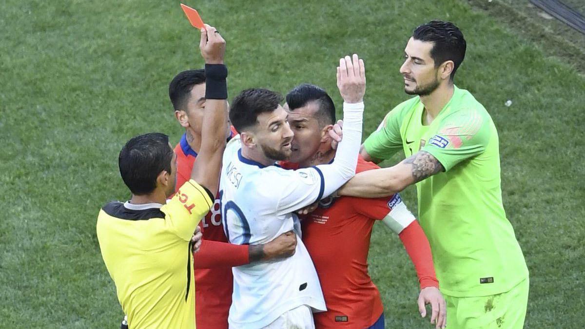 Argentina,Argentina vs Chile,Messi,Lionel Messi,Copa America 2019