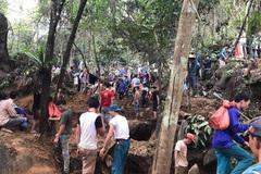 Đổ xô lên núi ở Yên Bái vì lời đồn có đá quý tiền tỉ, to bằng ngón tay