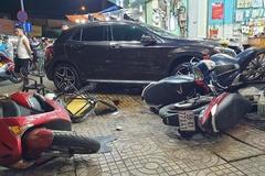 Xác định nữ tài xế Mercedes tông la liệt người và xe trên phố Sài Gòn