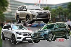SUV gần 8 tỷ: Chọn BMW X7 hay Lexus LX570, Mercedes-Benz GLS?