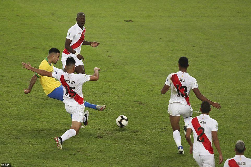 Brazil vs Peru,Copa America 2019