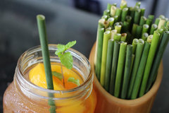 Environmentally friendly drinking straws