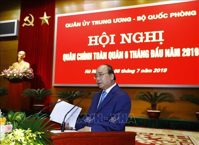 Thủ tướng Nguyễn Xuân Phúc,Nguyễn Xuân Phúc,Bộ Quốc phòng,Ngô Xuân Lịch