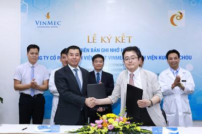 Vinmec tiếp nhận công nghệ điều trị ung thư gan độc quyền từ Nhật Bản